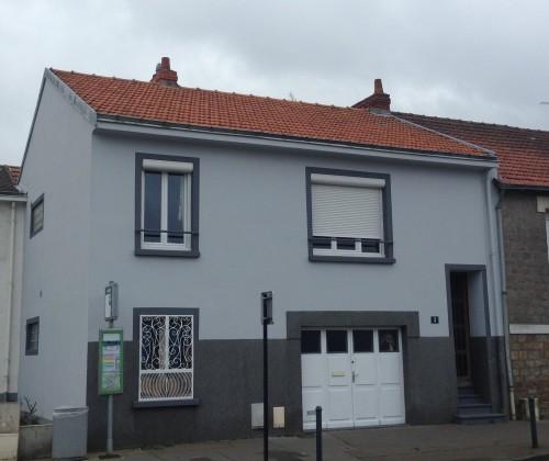 06/06/2014 peinture acrylique traitement de fissures profondes gris étanchéité nantes entreprise david renovation tous droits réservés