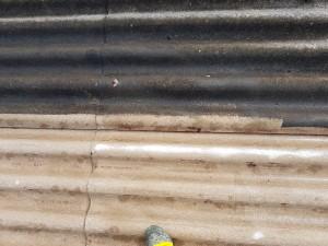 Décapage toiture fibro ciment