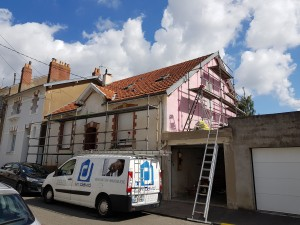 Enduit, ravalement, pignon, renovation, energie,