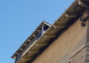 Boiseries sous toiture pornichet peinture entretien avril 2018