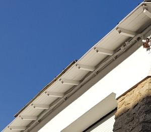 Boiseries sous toiture pornichet peinture entretien rénovation peinture avril 2018