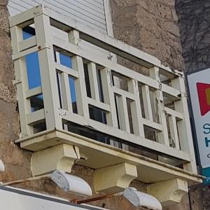 Boiseries sous toiture pornichet peinture entretien avril 2018 rambarde garde corps