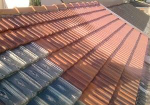 hydrofuge coloré rénovation toiture traitement