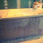 Faience baignoire