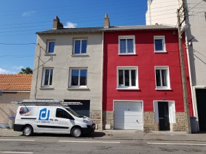 pierre renovation facade jointement entreprise david nantes renovation facade rouge peinture decoration